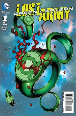 Green Lantern: The Lost Army 1-A