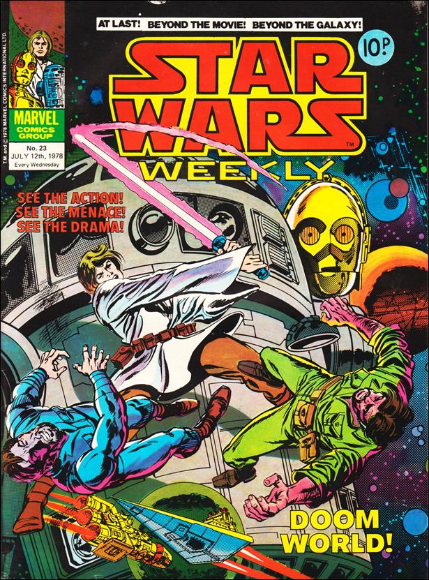 Star Wars Weekly (UK) 23-A by Marvel UK