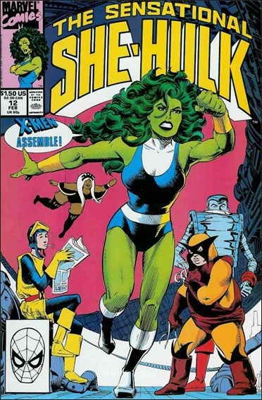 Sensational She-Hulk 12-A by Marvel