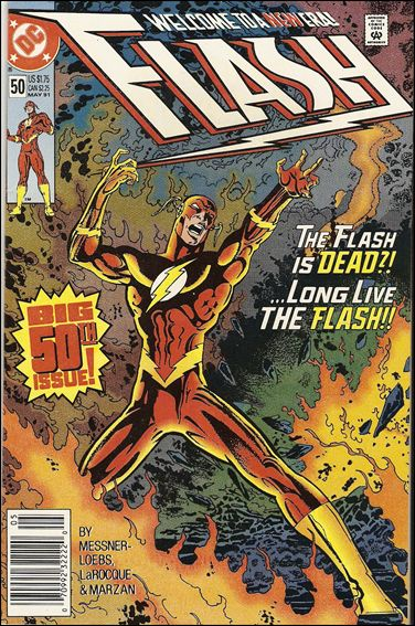 Flash (1987) 50-A by DC