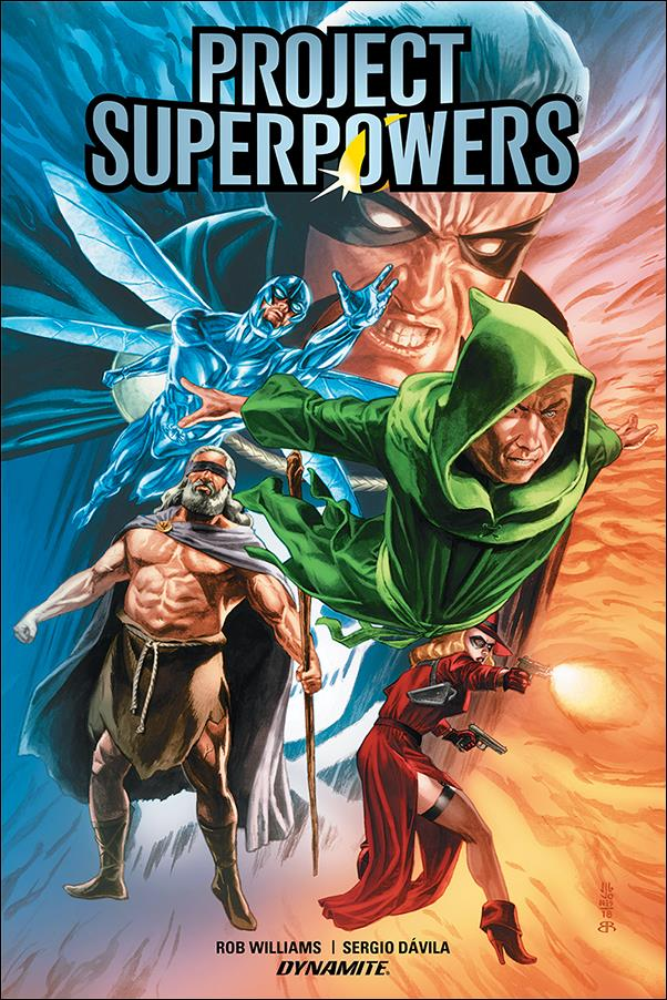Project Superpowers (2019) 1-A by Dynamite Entertainment