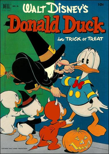 Walt Disney's Donald Duck (1952) 26-A by Gold Key
