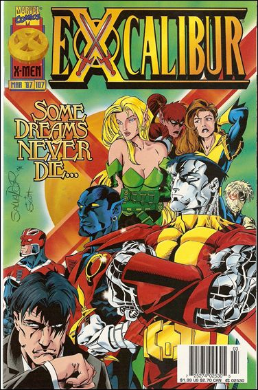 Excalibur (1988) 107-B by Marvel