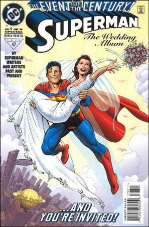 Superman: The Wedding Album 1-B