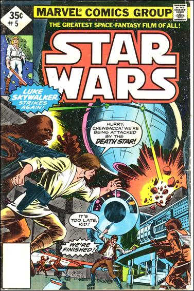 Star Wars (1977) 5-B by Marvel