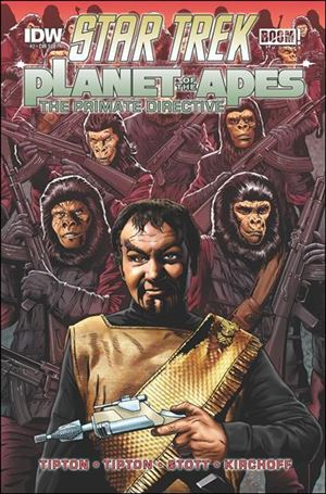 Star Trek/Planet of the Apes: The Primate Directive 2-B