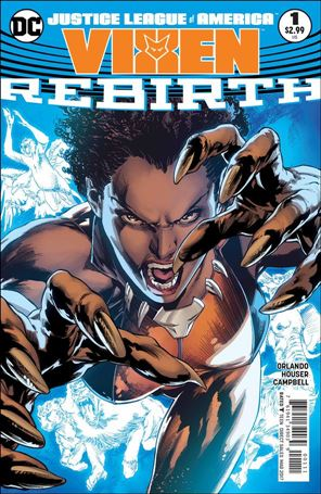 Justice League of America: Vixen - Rebirth 1-A
