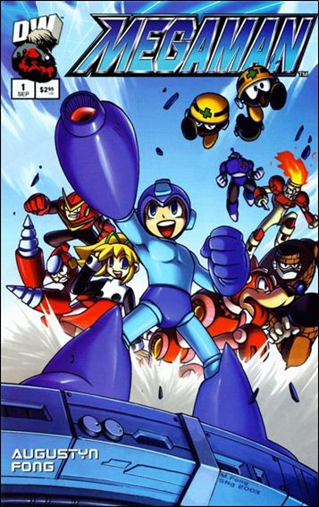 Megaman 1-A by Dreamwave