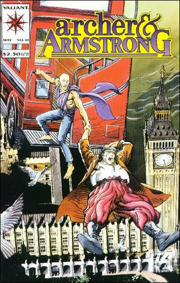 Archer & Armstrong (1992) 10-A by Valiant