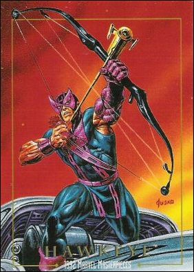 1992 Marvel Masterpieces (Base Set) 34-A by SkyBox