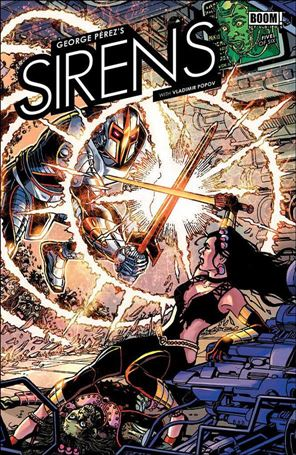 George Perez's Sirens 5-A
