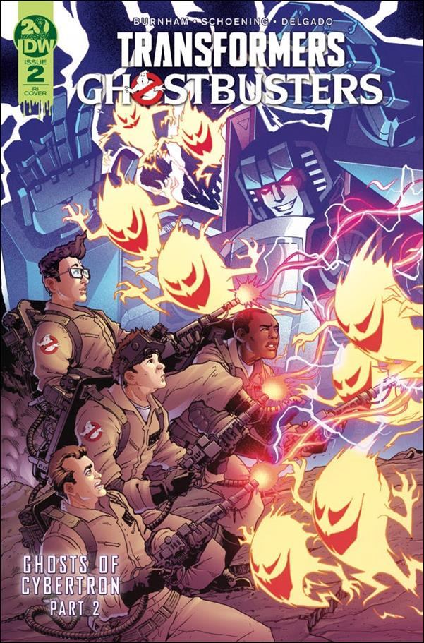 Transformers/Ghostbusters 2-C by IDW