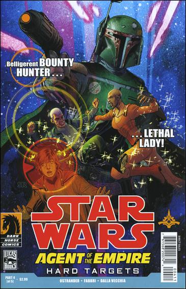 Star Wars: Agent of the Empire - Hard Targets 4-A by Dark Horse