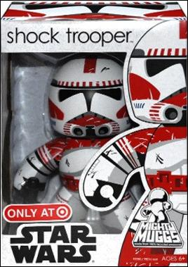 Mighty Muggs (Star Wars) Exclusives Shock Trooper by Hasbro