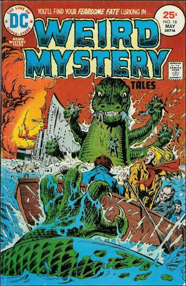 Weird Mystery Tales (1972) 18-A by DC