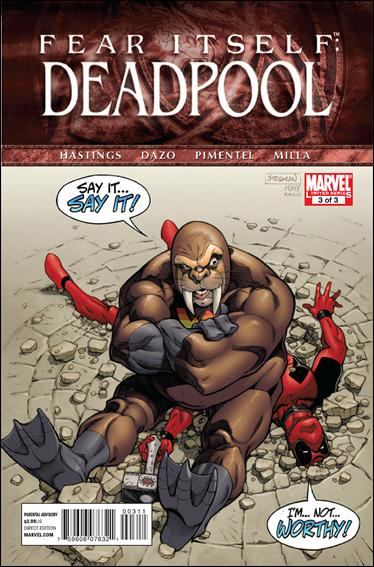 Fear Itself: Deadpool 3-A by Marvel