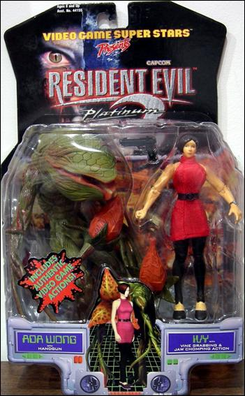 Resident Evil 2 (Platinum) Ada Wong and Ivy by Toy Biz