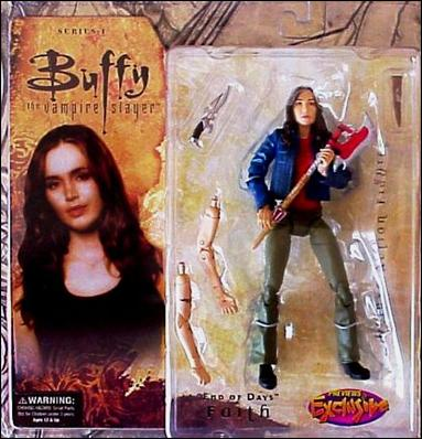 "Buffy the Vampire Slayer Deluxe (Series 1) ""End of Days"" Faith by Gentle Giant"