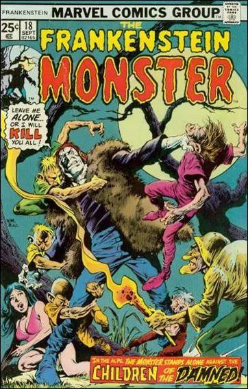 Frankenstein (1973) 18-A by Marvel