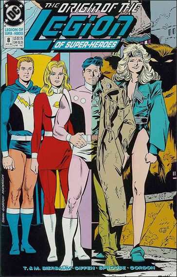 Legion of Super-Heroes (1989) 8-A by DC