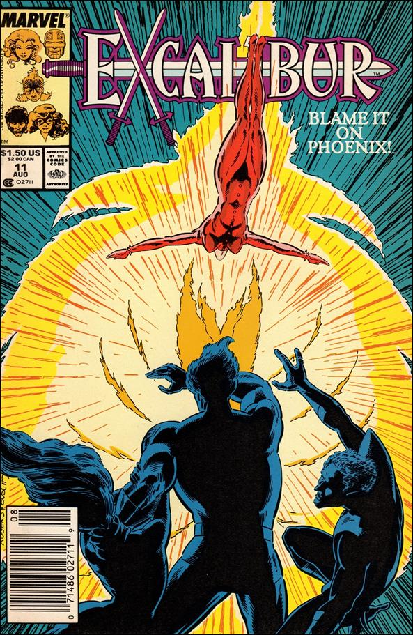 Excalibur (1988) 11-A by Marvel