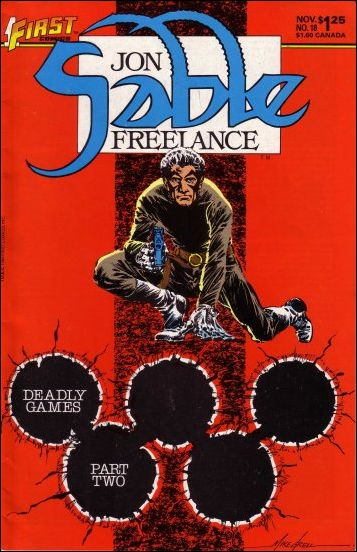 Jon Sable, Freelance 18-A by First
