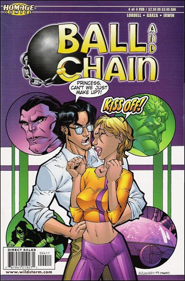 Ball and Chain 4-A by Homage Comics