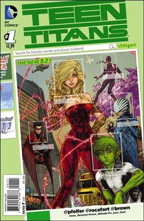 Teen Titans (2014) 1-A