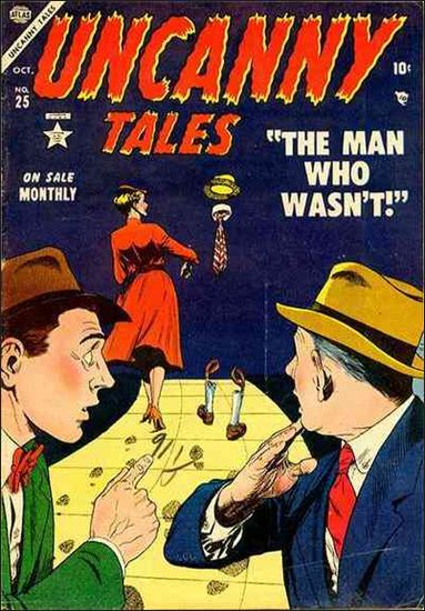 Uncanny Tales (1952) 25-A by Atlas