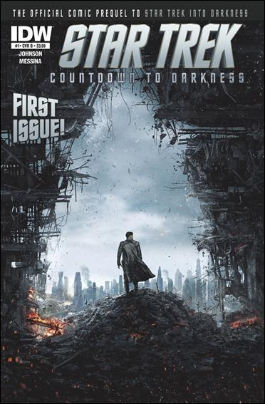 Star Trek: Countdown to Darkness 1-B by IDW