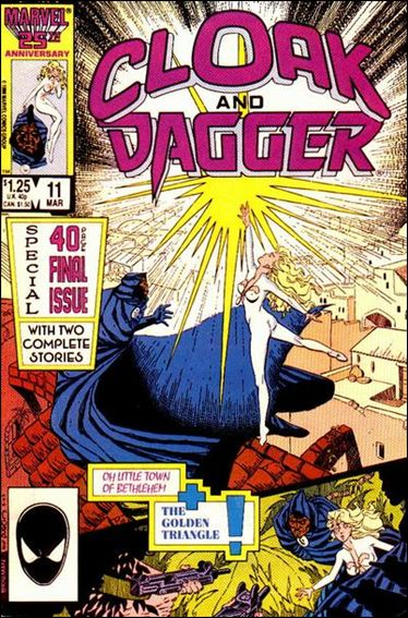 Cloak and Dagger (1985) 11-A by Marvel