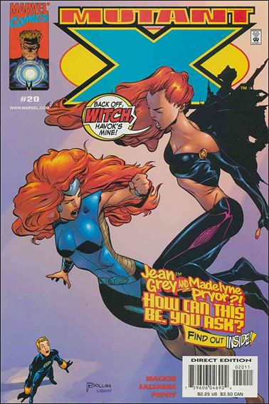 Mutant X 20-A by Marvel
