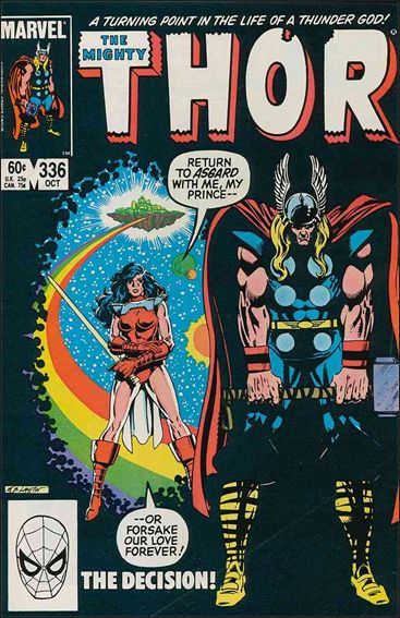 Thor (1966) 336-A by Marvel