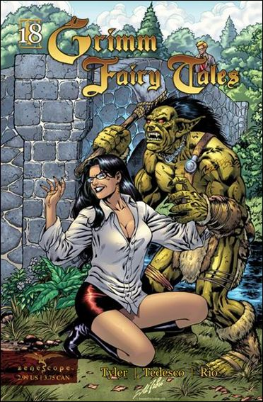 Grimm Fairy Tales 18-A by Zenescope Entertainment