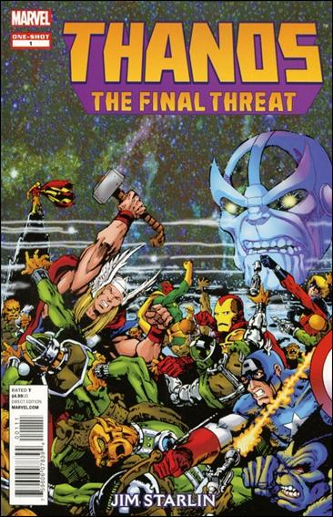 Thanos: The Final Threat 1-A by Marvel