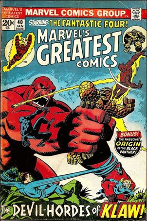 Marvel's Greatest Comics 40-A