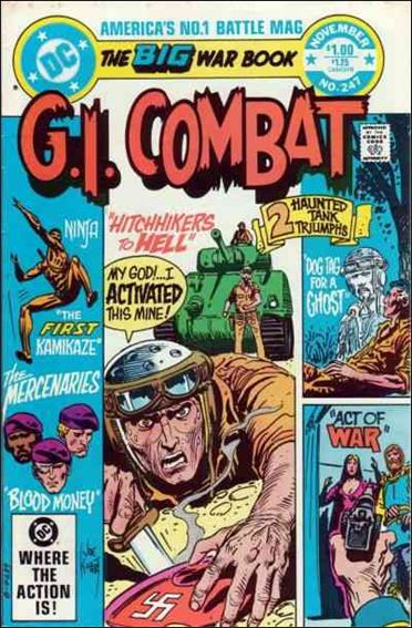 G.I. Combat (1952) 247-A by DC