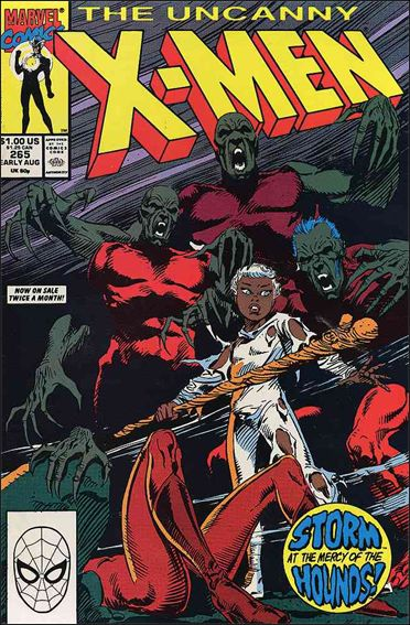Uncanny X-Men (1981) 265-A by Marvel