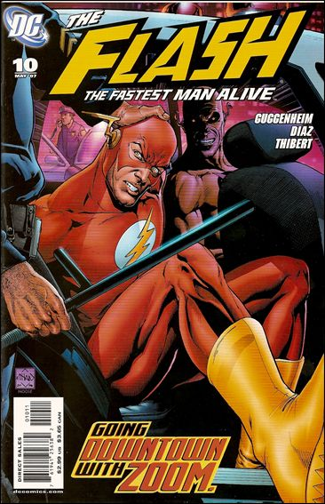 Flash: The Fastest Man Alive 10-A by DC