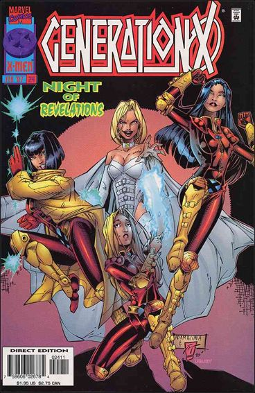 Generation X (1994) 24-A by Marvel