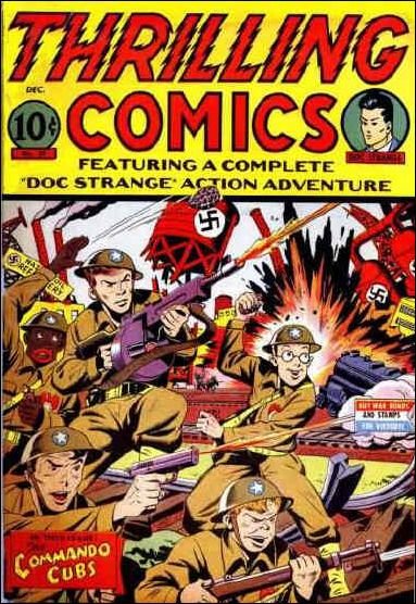 Thrilling Comics (1940) 39-A by Standard