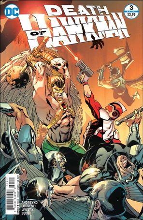 Death of Hawkman 3-A