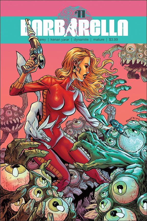 Barbarella Comic Book