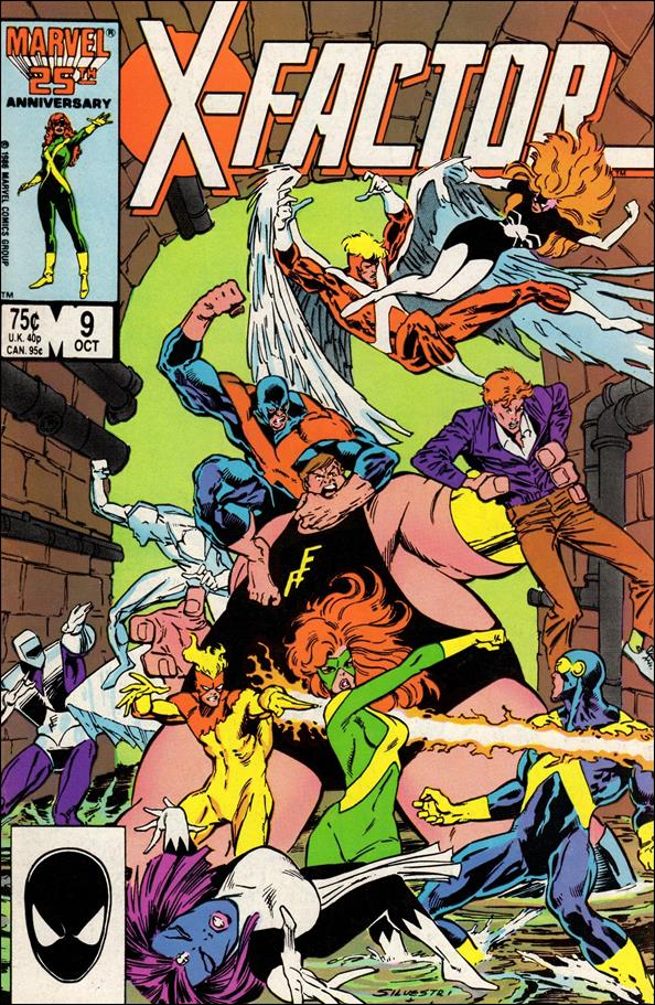X-Factor (1986) 9-A by Marvel