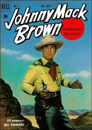 Johnny Mack Brown Comics 3-A