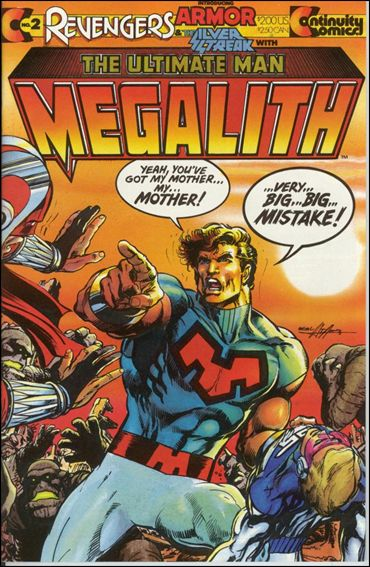Revengers Featuring Megalith 2-A by Continuity Comics