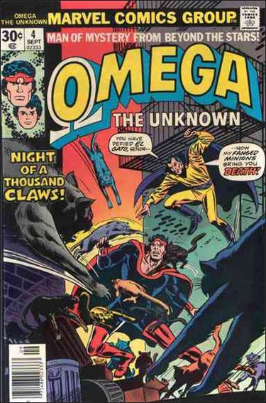 Omega: The Unknown (1976) 4-A by Marvel