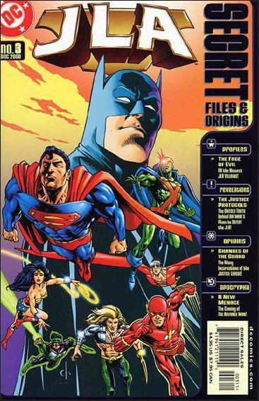 JLA Secret Files 3-A by DC
