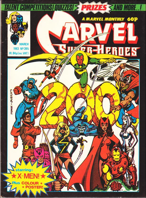 Marvel Superheroes (UK) 395-A by Marvel UK