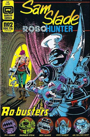 Sam Slade Robo Hunter 2-A by Quality Comics